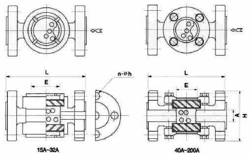 KSG2B / KSG3B: Ball type in-line sight flow indicators